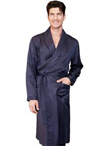 шелковый мужской халат