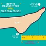 идеальная высота каблука