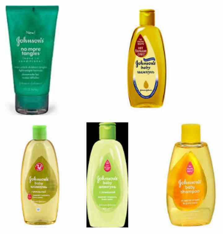 Johnsons baby shampoo
